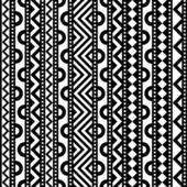 Contrast Geometric Pattern — Stock Vector