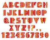Decorative Letters — Stock Vector