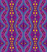 Purple Ethnic Pattern — Stock Vector