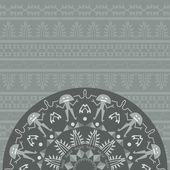 Sztuka Aborygenów abstrakcyjne tło — Wektor stockowy