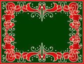 Граница Рождество — Cтоковый вектор