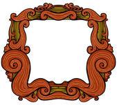 Ornate Retro Frame — Stock Vector