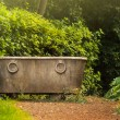 Antique bath in garden — Stock Photo #37225097
