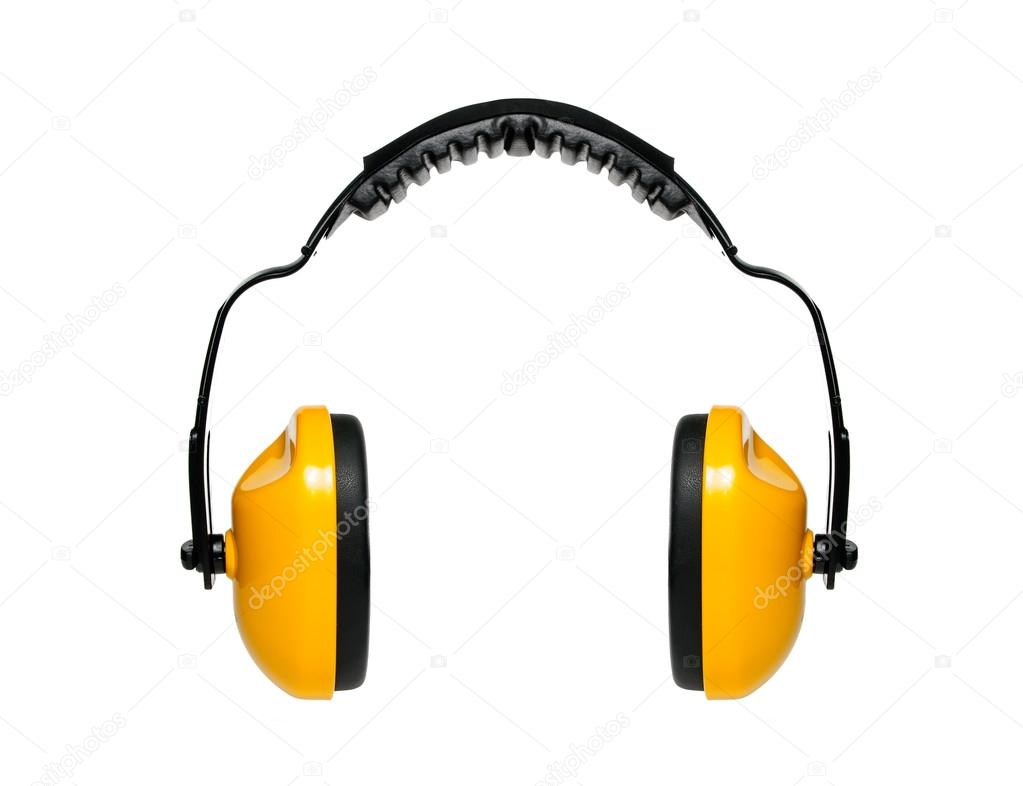 Protective ear muffs — Stock Photo #20795655