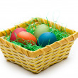 Color easter eggs — Stock Photo