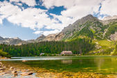 Beautiful Lake in High Tatra of Slovakia — Stock Photo