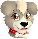 Little dog — Stock Vector