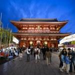 Asakusa Kannon Temple in Tokyo — Stock Photo