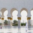 Abu Dhabi sights — Stock Photo
