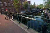 Streets of Amsterdam — Stock Photo