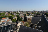 View on Amsterdam from the rooftop — Stock Photo