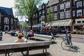 Amsterdam park — Zdjęcie stockowe