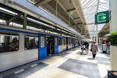 Amsterdam metro station — Zdjęcie stockowe