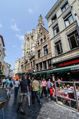 Grand Place, Antwerpen — Stock Photo