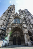 Cathedral of Our Lady in Antwerpen — Stock Photo