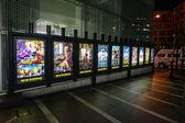 Cinema posters in Tokyo — Stock fotografie