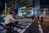 Night time in Tokyo, Japan — Stock Photo