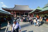 Senso-ji храм, токио, япония — Стоковое фото