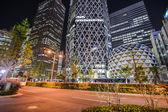Läge gakuen cocoon torn. Tokyo, japan — Stockfoto