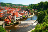 Cesky Krumlov, Czech — Stock Photo