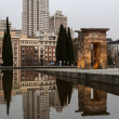 Debod egyptian temple — Stock Photo #22053897