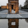Stock Photo: Debod egyptian temple
