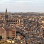 Panoramic view of Toledo,Spain — Stock Photo