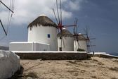 View of Mykonos Windmills — Stock Photo