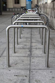 Bike parking — Stock Photo