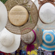 Picture hat at street market — Stock Photo #25856741