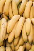 Bananas at street market — Stock Photo