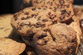 Kleine gruppe von cookies — Stockfoto