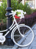 Bike decorated — Stockfoto