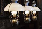 Vintage lamps — Stock Photo