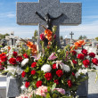 Colourful cemetery — Stock Photo