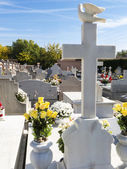 Colourful cemetery — Stockfoto