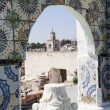 Stock Photo: Sidi bou Said street view