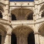 The Hieronymites Monastery (Mosteiro dos Jeronimos), located in  — Stock Photo #38587951