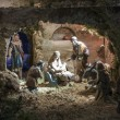 Stock Photo: Christmas creche