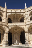 The Hieronymites Monastery (Mosteiro dos Jeronimos), located in — Stock Photo