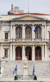 The City Hall of Ermoupolis town — Stock Photo