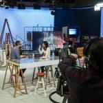 TV show La Aventura del Saber — Stock Photo
