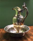 Ancient bronze jug — Stock Photo