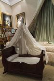 Cuna y cama antigua — Foto de Stock