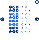 按钮导航工具 — 图库矢量图片
