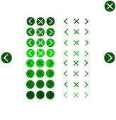 Outils de navigation de bouton — Vecteur