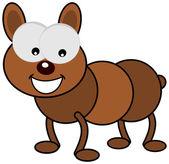 A small dog — Stock Vector