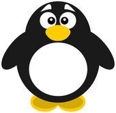 A big penguin — Wektor stockowy
