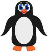 A cute emperor penguin — Stock vektor