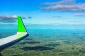Asa de avião — Foto Stock